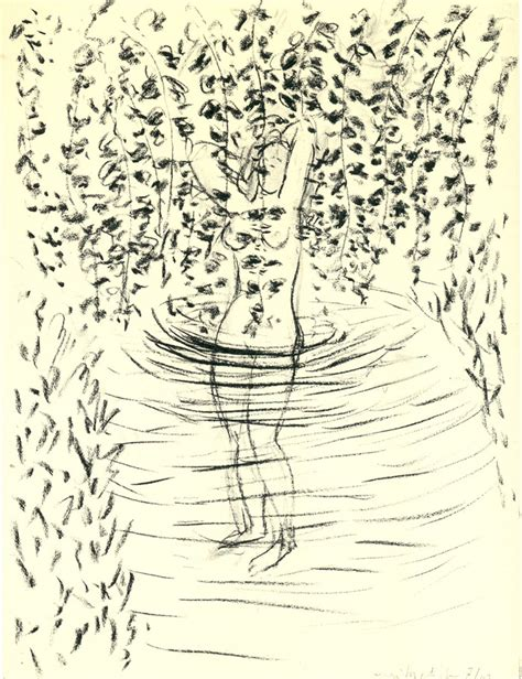 henri matisse drawings 0500093288 bather with leaves by henri matisse
