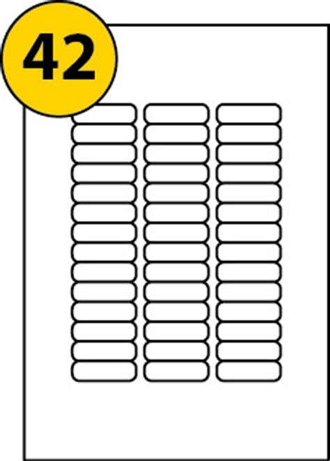 52 Labels Per Sheet Template by 50 Pages Of 42 Labels Per Sheet 46 X 11 1