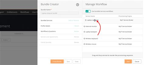 bmc workflow service bundles documentation for digital workplace