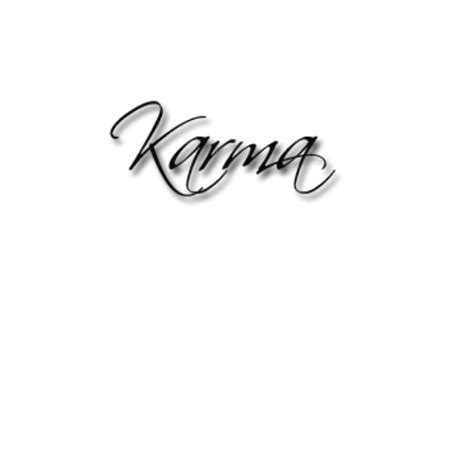 karma symbol tattoo asian tatto style karma