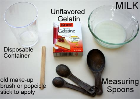 diy gelatin mask echopaul official how to pore strips