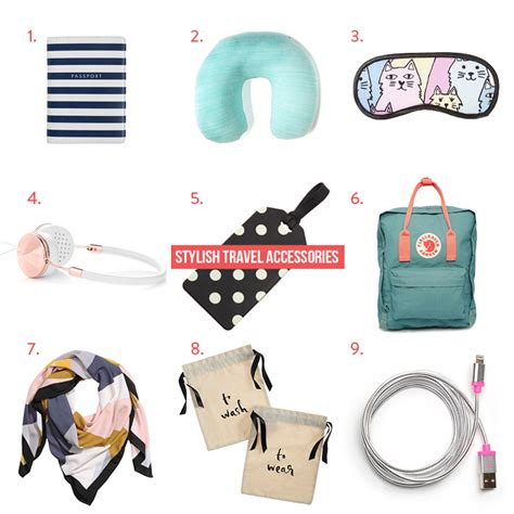 travel accessories the stylish traveller travel accessories to make your