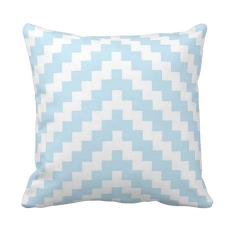 baby blue sofa pillows aztec zigzag in baby blue and white throw pillow aztec