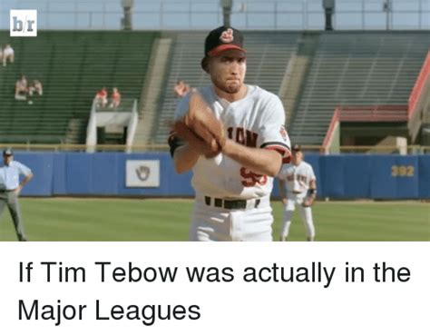 Tebowing Meme - b if tim tebow was actually in the major leagues sports