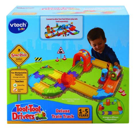 Vtech Deluxe Track Set vtech baby toot toot drivers deluxe track set playset