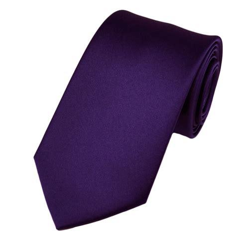 plain purple boys tie from ties planet uk