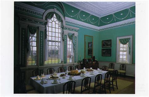 Mount Vernon Dining Room by Postcard Mt Vernon The Dining Room Flickr Photo