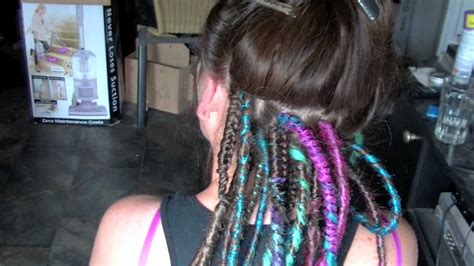 how to section hair for dreadlocks professional synthetic dreadlock install hd rivet licker