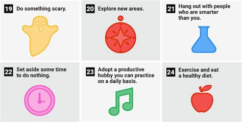 24 Daily Habits That Will Infographic 24 Daily Habits That Will Make You Smarter Designtaxi