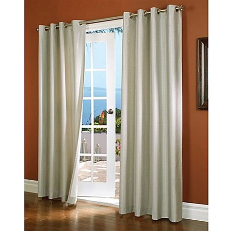 Insulated Window Curtains Commonwealth Home Fashions Horizon Insulated Blackout Grommet Top Window Curtain Panel Bed