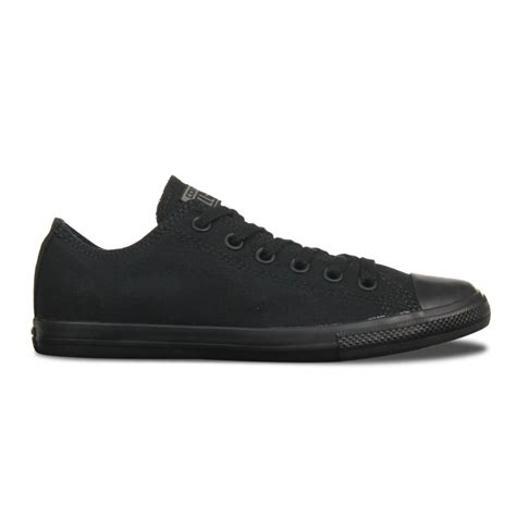 Converse Ct Unisex Low Black converse converse ct lean ox black black mono gd1 142271 unisex trainers converse from