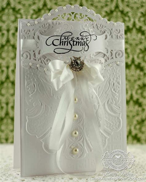 amazing cards to make dreaming of a white 187 amazing paper grace
