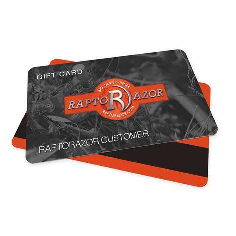 Gift Card Vendors - gift card raptorazor
