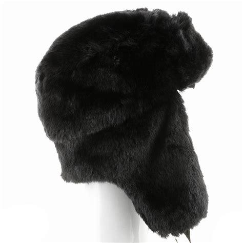 Winter Pilot Hat ultrafino explorer ushanka winter trapper faux fur pilot