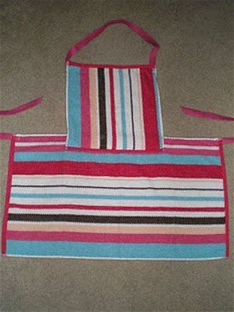 pattern for apron with towel towels dish towels and knitting patterns free on pinterest