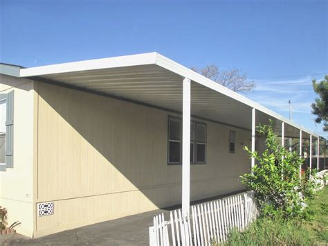used mobile home awnings mobile home patio covers new mobile home awnings laxmid
