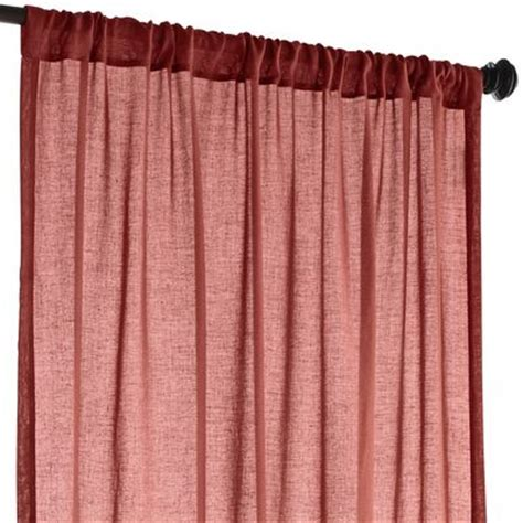 Spice Colored Curtains Quinn Sheer Curtain Spice Pier 1 Imports