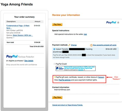 How To Redeem Paypal Gift Card - how to register visa gift card on paypal infocard co
