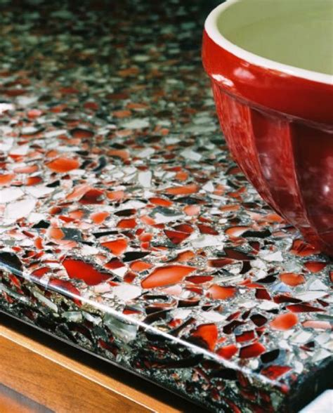recycled countertop materials 79 best glass countertops images on pinterest glass