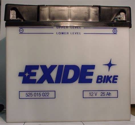 Motorrad Batterie 25ah by Motorradbatterie 52515 12v 25ah Batterie Ecke