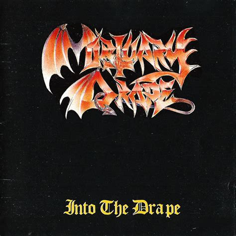 mortuary drape mortuary drape into the drape cd at discogs
