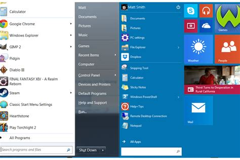 start menu doesnt open in windows 10 tech preview windows 10 a closer look at its design digital trends