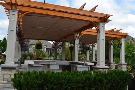 awning pergola retractable canopies in vaughan shadefx canopies