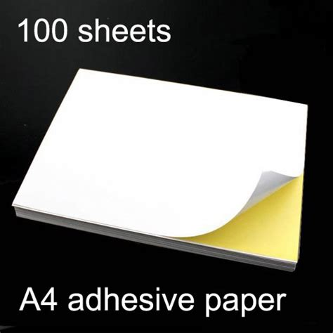 How To Make Adhesive Paper - popular printer stickers from china best selling printer