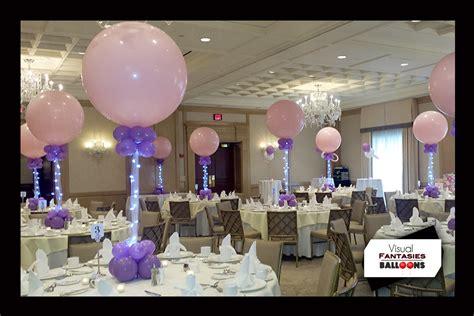 bar mitzvah table centerpieces bar and bat mitzvahs visual fantasies balloons