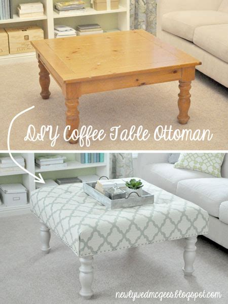 cheap ottoman coffee table cheap decorating ideas on thrifty thursday week 5