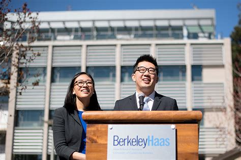 Mba Haas At 40 Years by Record Gift To Berkeley Haas From A Alum And