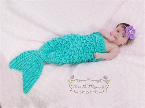 Headband Prop mermaid headband prop crochet pattern by thomasinac