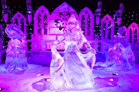 het ijssculptuur festival  antwerpen