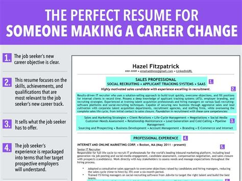 7 Reasons To Make A Career Change 7 reasons this is an ideal resume for someone a