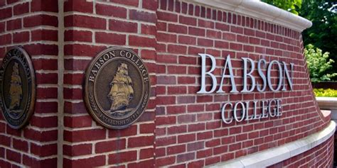 Babson College Mba Deadlines by Babson College S F W Olin Graduate School Of Business