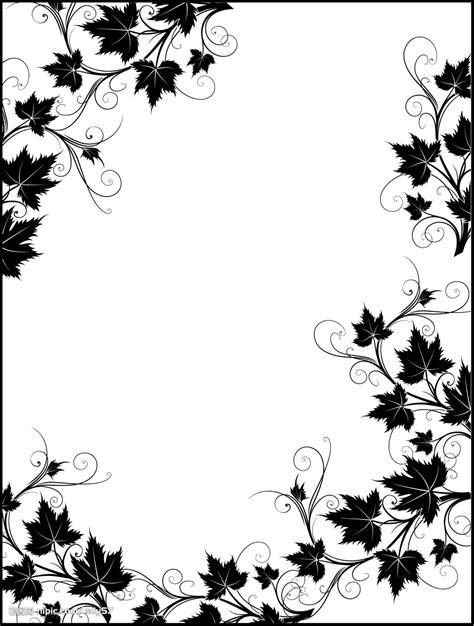 pattern border black and white 求这种黑白花纹边框模板 百度知道