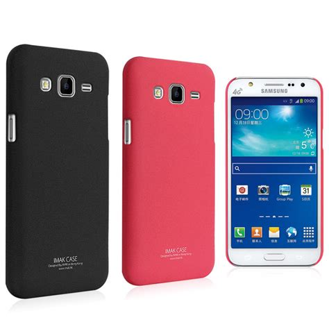 for samsung galaxy j7 sm j700 imak frosted shield back cover shell screen protector
