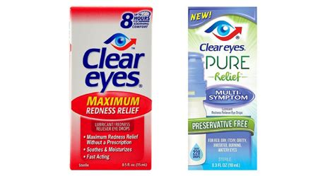 printable coupon for clear eyes clear eyes coupons drops for 2 40 ea southern savers