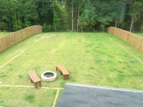 1 acre backyard design how much did you spend on your fence weddingbee