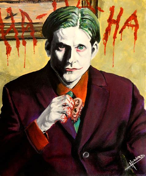 crispin glover as joker crispin glover as the joker by lee howard art on deviantart