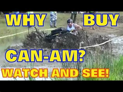 Can Am Meme - can am vs honda vs polaris vs yamaha vs arctic cat mud