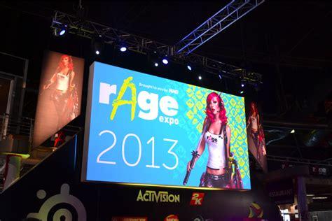 celeb rage rage expo 2013 gaming celebs cosplay fun gotrendsa