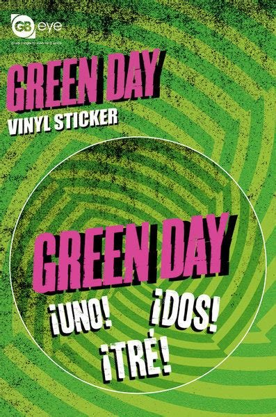 Ups Aufkleber Bestellen by Vinyl Aufkleber Green Day Logo Bei Europosters