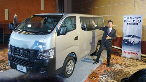 nissan urvan escapade modified nissan philippines launched the nissan nv350 urvan model