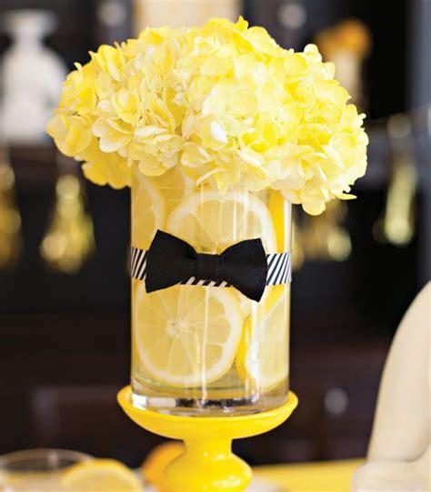 best 25 yellow centerpieces ideas on lemon