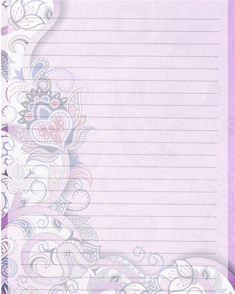 printable digital journal printable journal page purple lined digital stationery 8 x