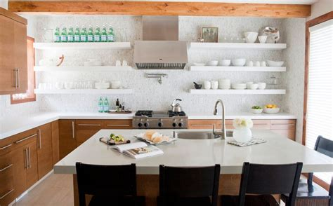 10 Ways To Work With Floating White Shelves | 10 ways to work with floating white shelves