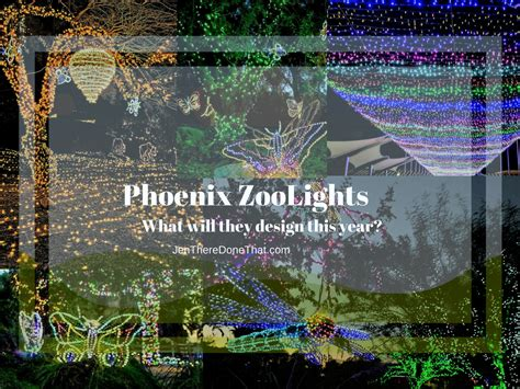 Phoenix Zoo Lights Zoo Lights Phx Az