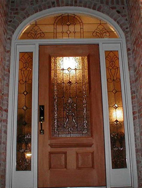 Leaded Glass Front Door Masterson Arts Leaded Glass Entryway