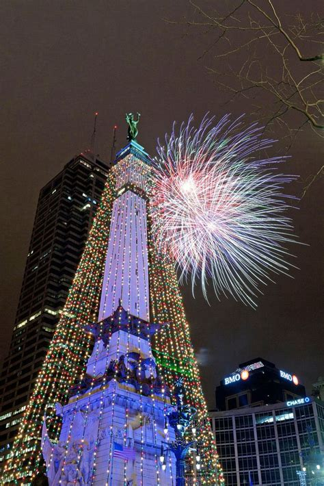 circle of lights indianapolis indiana all things